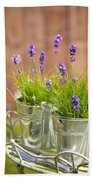 Garden Lavender Beach Sheet
