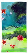 Garden Magic Beach Sheet