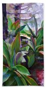 Garden Of Agave Beach Towel
