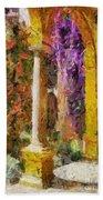 Garden Of Eden Beach Towel
