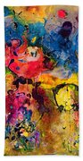 Garden Of Heavenly And Earthly Delights Beach Towel