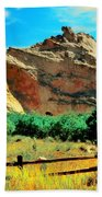 Garden Of The God's-colorado Beach Towel