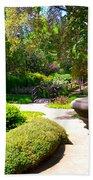 Garden Of Wishes Beach Towel