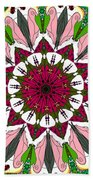 Garden Party Beach Towel