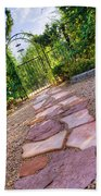 Garden Path Beach Towel