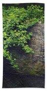 Garden Scene Beach Towel by Svetlana Sewell
