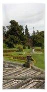 Garden View - Powerscourt Garden Beach Towel