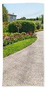 Garden Walkway Beach Towel