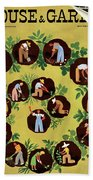 Gardeners And Farmers Beach Towel