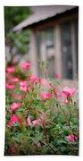 Gardens Of Pink Beach Towel