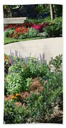 Gardenscape Beach Towel