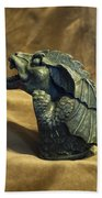 Gargoyle Or Grotesque Profile Beach Towel