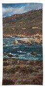 Garrapata Coast Beach Towel