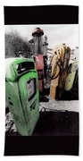Gas Pump Grave 23 Beach Towel