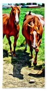 Gate Horse Beach Towel