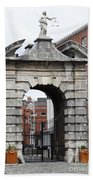 Gate Of Justice - Dublin Castle Beach Towel