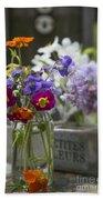 Gathering Wildflowers Beach Sheet