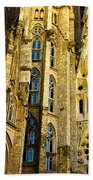 Gaudi - Sagrada Familia Beach Towel
