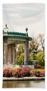 Gazebo At Forest Park St Louis Mo Beach Towel