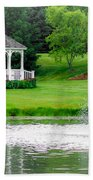 Gazebo Gardens IIi Beach Towel