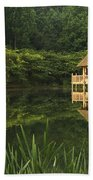 Gazebo Reflections Beach Towel