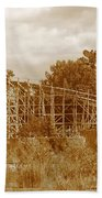 Geauga Lake 2  Beach Towel