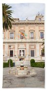 General Archive Of The Indies In Seville Beach Towel