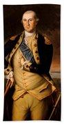 General George Washington  Beach Towel