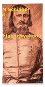 General Pickett Confederate  Beach Towel