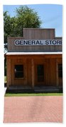 General Store At Historical Park Beach Towel