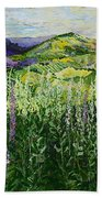 Gentle Shadows Beach Towel