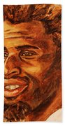 Gentleman With Goatee Beach Towel
