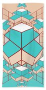 Geometric2 Beach Towel