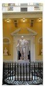 Georg Washington Statue - Capitol Richmond Beach Towel