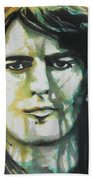 George Harrison 01 Beach Towel