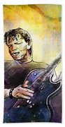 George Thorogood In Cazorla In Spain 02 Beach Towel
