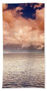 George Town-grand Cayman Rainbow After The Storm Beach Towel