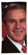 George W Bush Beach Towel