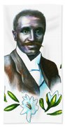 George Washington Carver Beach Towel