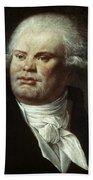 Georges-jacques Danton (1759-1794) Beach Towel