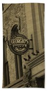 Georgio's Pizza Grand Rapids Michigan Beach Towel