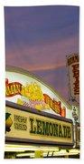 German Fries Topsfield Fair Beach Towel