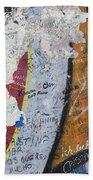 Germany, Berlin Wall Berlin Beach Towel