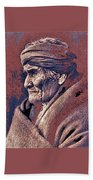 Geronimo  Photographed By Edward S. Curtis  1903-2013 Beach Towel