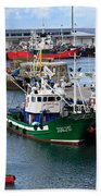 Getaria Fishing Fleet Beach Towel