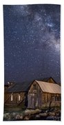 Ghost Dog At Bodie Beach Towel