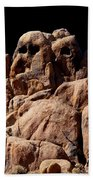 Ghost Rocks Or Ghosts Rock Beach Towel