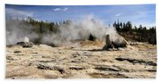 Giant Geyser Group Beach Towel