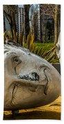 Giant Heads Beach Towel