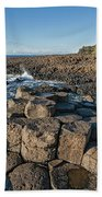 Giant S Causeway, Antrim Coast Beach Towel